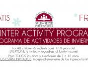 Winter Activity Program for Kids & Teens 2018